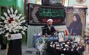 برگزاری مراسم یادبود مدیر هنرستان عدالت شهرستان اسلامشهر