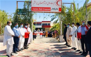 اجرای طرح ملی نذر آب 3 در ایرانشهر