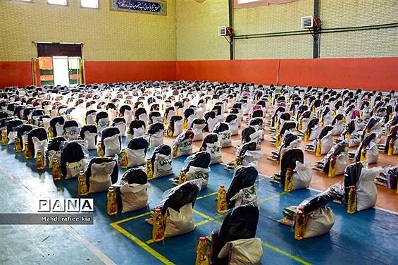 رزمایش کمکهاى مومنانه آموزش و پرورش ناحیه٢ تبریز