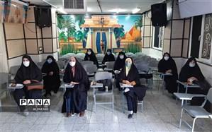 آموزش تولید محتوا در دارالقرآن حضرت زهرا(س) منطقه چهار