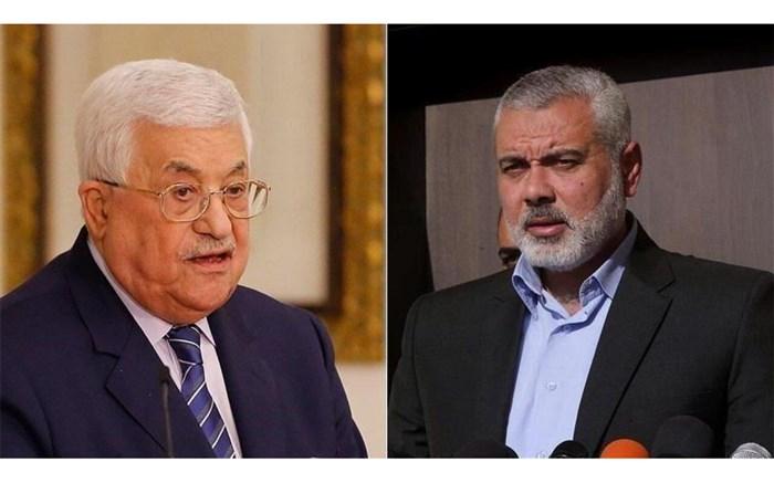 اسماعیل هنیه و محمود عباس