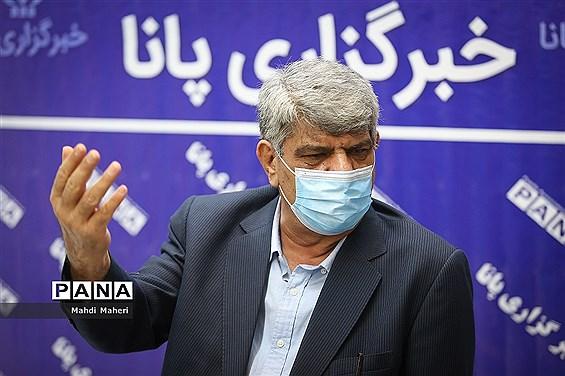 بازدید ابراهیم امینی، نایب رئیس شورای اسلامی شهر تهران از خبرگزاری پانا