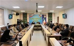 جلسه شورای پشتیبانی  نهضت سوادآموزی  با حضور مسئولین استانی برگزار شد