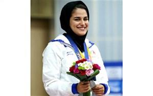 کسب اولین مدال طلای تیراندازی بانوان در طول تاریخ مسابقات آسیایی ،توسط ورزشکار بیرجندی