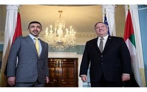 وزیر خارجه امارات در آمریکا مدعی پایبندی به تعهدات بلندمدت در قبال فلسطین شد