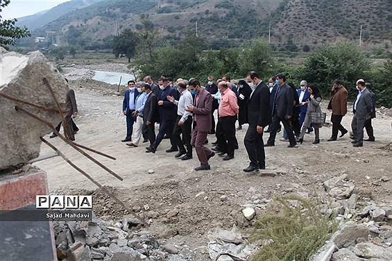 بازدید رییس سازمان نوسازی مدارس کشور از پروژههای نیمهتمام مازندران