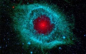 """تصویر ناسا از """"سحابی چشم خدا"""""""