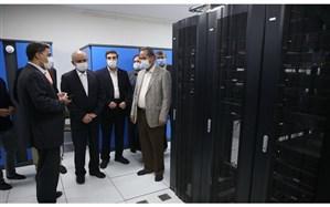 بازدید وزیر آموزشوپرورش از مرکز دیتاسنتر دانشگاه شهید رجایی