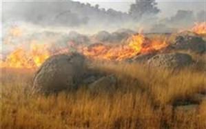 دو فروند بالگرد آب پاش برای مهار آتش  به منطقه کوه سفید لنده اعزام میشود