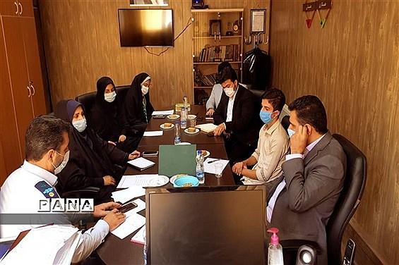 جلسه هماهنگی نمایندگان دهمین دوره مجلس دانشآموزی استان البرز