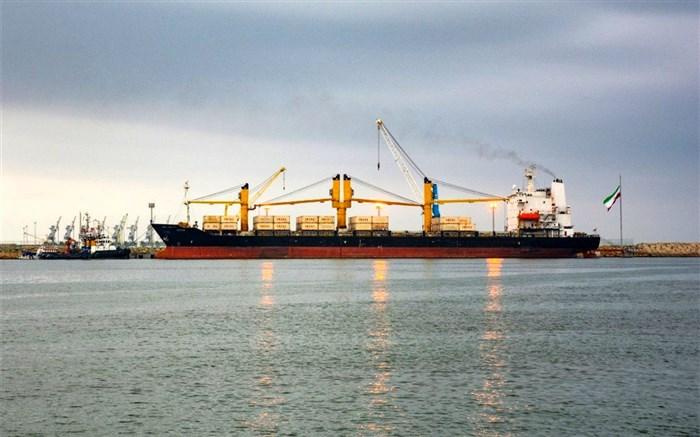 پهلو گیری 2 کشتی ترانزیتی از بنادر هند و امارات در چابهار