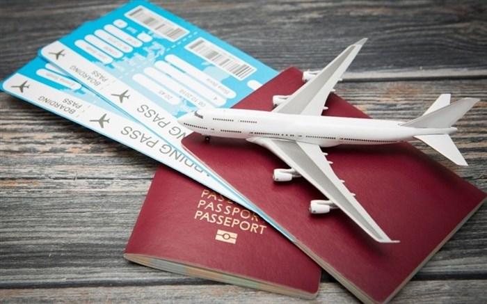 نرخ بلیت هواپیما