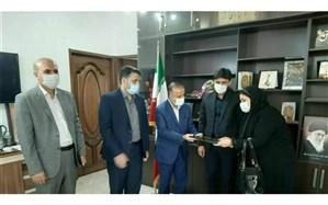 معارفه سرپرست جدیداداره تعاون،کار و رفاه اجتماعی شهرستان لالی