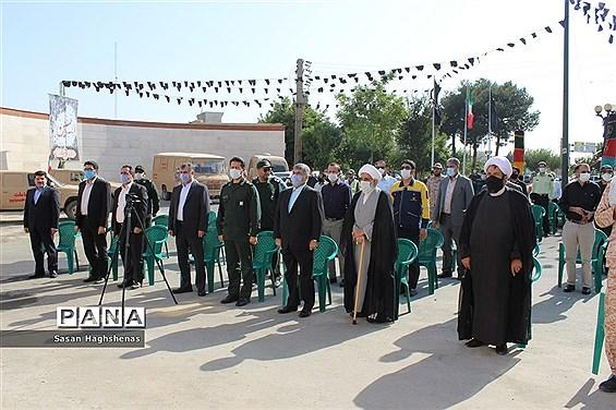 مراسم گرامیداشت آغاز هفته دفاع مقدس در شهرستان اسلامشهر