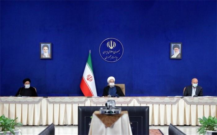 جلسه شورای عالی هماهنگی اقتصادی سه قوه