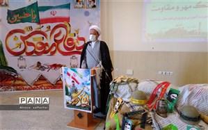 دفاع مردم ایران از نظام و ارزش های دینی خود با تقدیم هزاران شهید در دفاع مقدس