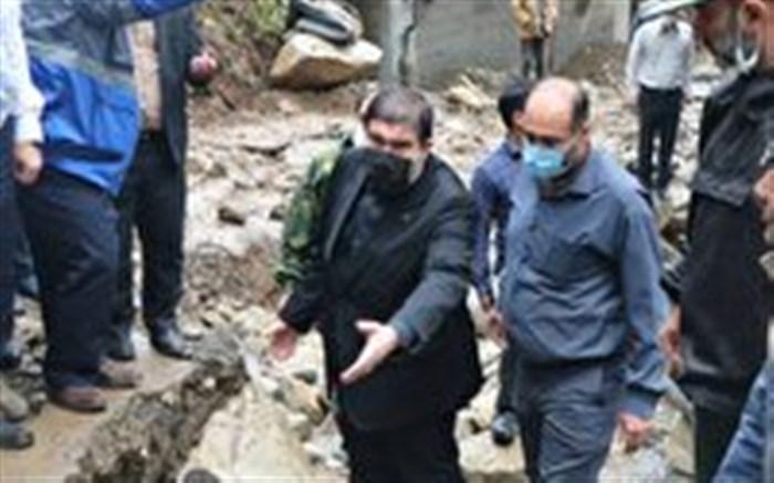 خسارت سیلاب به بیش از ۲۰۰خانه روستایی در تالش