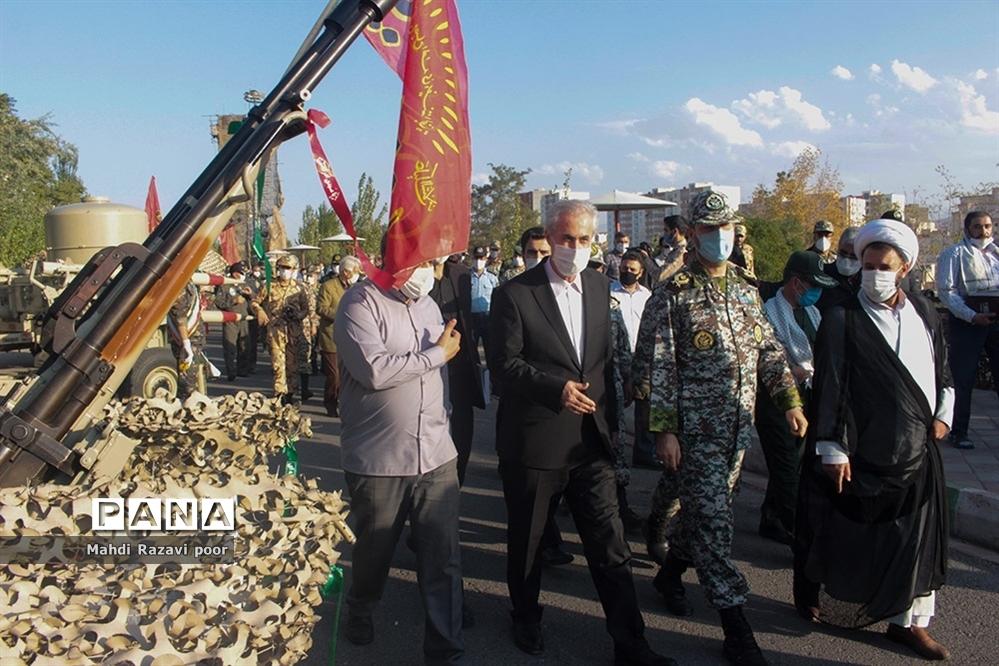 نمایشگاه دستاوردهای دفاع مقدس و مقاومت تبریز