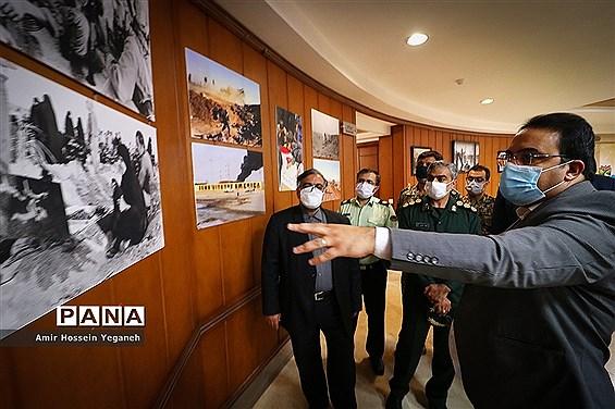 آیین گشایش نمایشگاه عکس دفاع مقدس