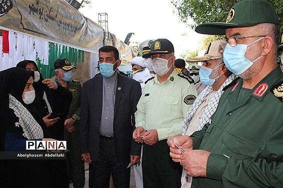 نمایشگاه دستاوردهای دفاع مقدس و مقاومت بوشهر