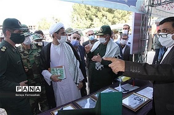 افتتاح نمایشگاه رزمی، فرهنگی (دفاع مقدس ) در فرهنگسرای بجنورد