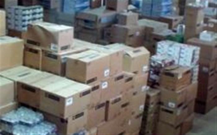 کشف کالای قاچاق از سه انبار در شهرستان ابهر