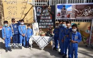 گرامیداشت هفته دفاع مقدس در دبستان شهید محمود فلاحزاده ابرکوه