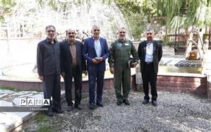 دیدار مدیر آموزش و پرورش منطقه چهار با فرمانده هوانیروز ارتش جمهوری اسلامی ایران