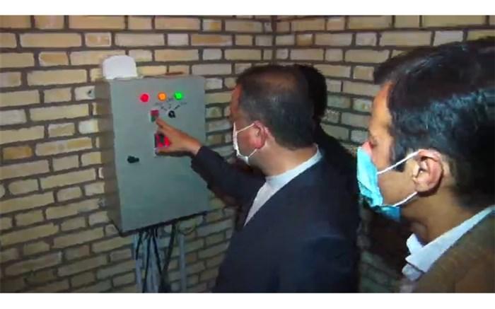 افتتاح دو طرح آبرسانی در میانه