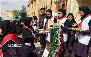 جشن عاطفه ها با شعار مهر همدلی در سراسر مدارس استان  کهگیلویه و بویراحمد برگزار شد