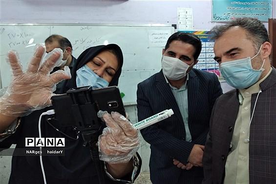 بازدید معاون مدیرکل قرآن و عترت وزارت آموزش و پرورش از شهرستان امیدیه