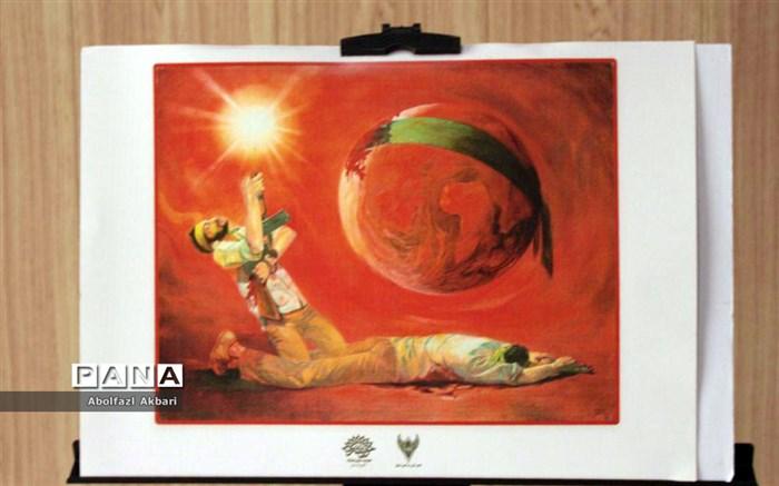 ۴۰ نقاش در باغموزه دفاع مقدس مازندران اثر میآفرینند