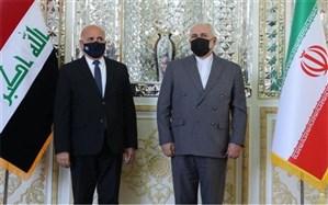 دیدار وزیر امور خارجه عراق با محمدجواد ظریف