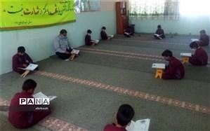 محفل انس با قرآن در دبستان شهید محمد فلاحزاده  ابرکوه برگزارشد