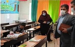بازدید رئیس اداره تکنولوژی گروه های آموزشی ابتدایی شهرتهران از مدارس منطقه3
