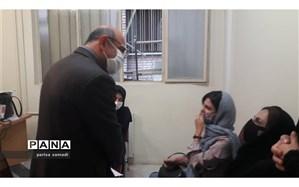 بازدید سید محمد هادی حسینی از پایگاههای انتخاب رشته منطقه ۱۳