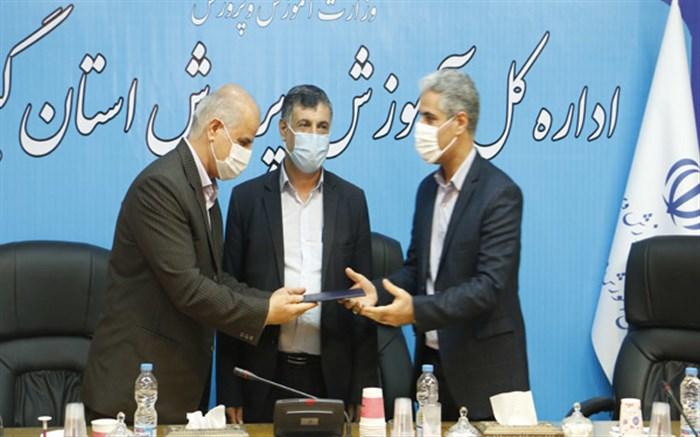 حسین پور به سمت مدیریت  منابع انسانی و امور اداری اداره کل آموزش و پرورش استان گیلان منصوب شد