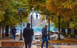 کاهش ۱۰ درجهای دما در اصفهان