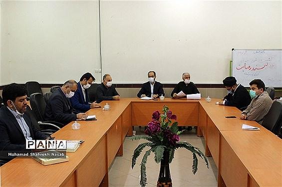 نشست شورای جهادی با حضور معاون پرورشی ادارهکل آموزش و پرورش خوزستان