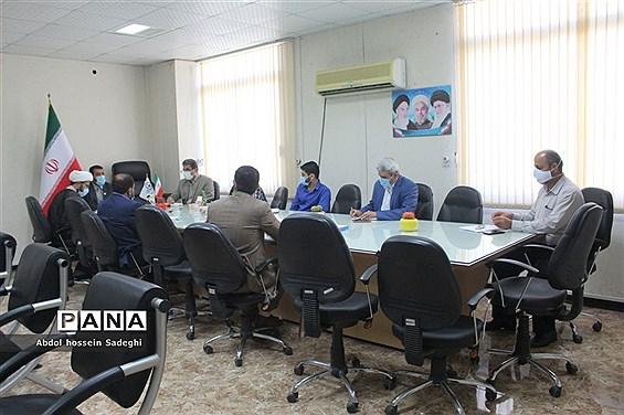 جلسه کمیته دانش آموزی یوم الله 13 آبان در آموزش و پرورش استان بوشهر