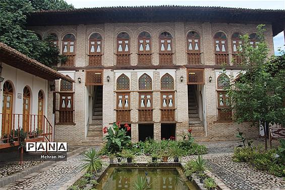 سرای باقریها و خانه امیرلطیفی یکی از اماکن تاریخی گرگان