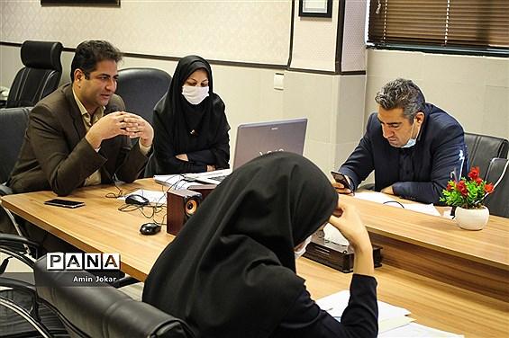 گردهمایی استانی مسئولان سازمان دانشآموزی فارس به صورت ویدئو کنفرانس