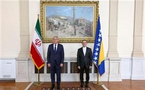 سفیر جدید کشورمان در بوسنی و هرزگوین استوارنامه خود را تقدیم کرد