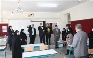 دبیر کل شورای عالی آموزش و پرورش  از مدارس شهری زنجان بازدید کرد