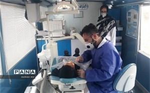 اعزام گروه جهادی دندانپزشکی به مناطق کمتر توسعه یافته شهرستان گمیشان