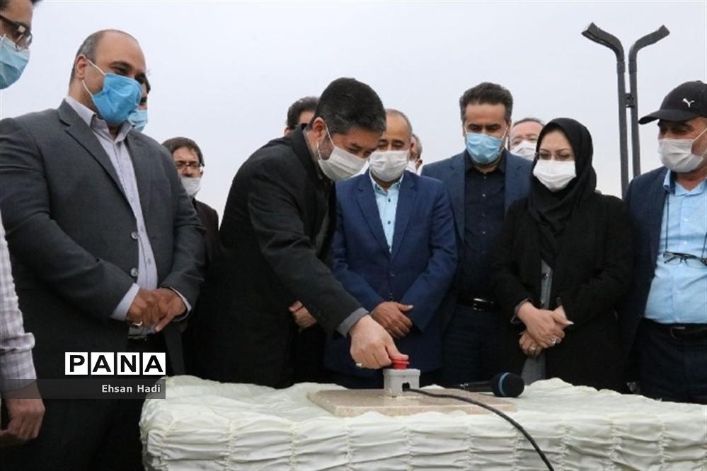 عملیات اجرایی احداث رود پارک مشهد