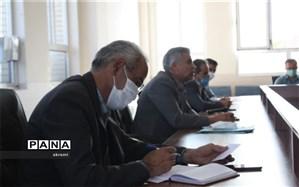 جلسه شورای اداری آموزش وپرورش ابرکوه برگزارشد