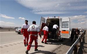 انجام ۲۱۷ مورد عملیات امداد و نجات طی ۷۲ ساعت گذشته