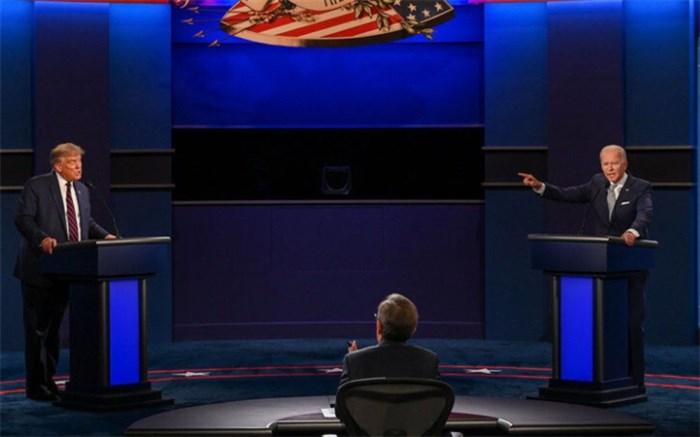 اولین مناظره منفی انتخابات آمریکا با چاشنی دروغ و بیاخلاقی