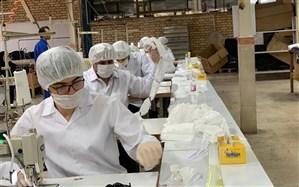 ۲۲ میلیون ماسک روزانه در ایران تولید میشود